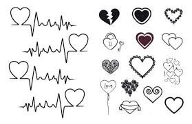 mom with heartbeat line tattoo - Google Search