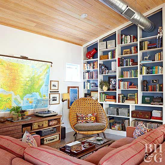 Stylish Ideas For Arranging And Organizing Bookcases: 17 Best Ideas About Organizing Bookshelves On Pinterest