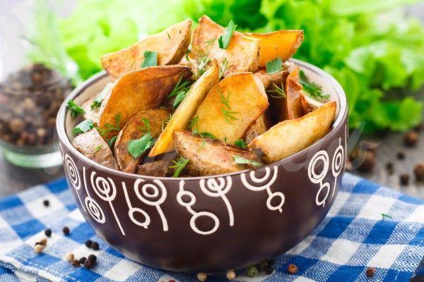 Запеченные картофельные дольки от Джейми Оливера