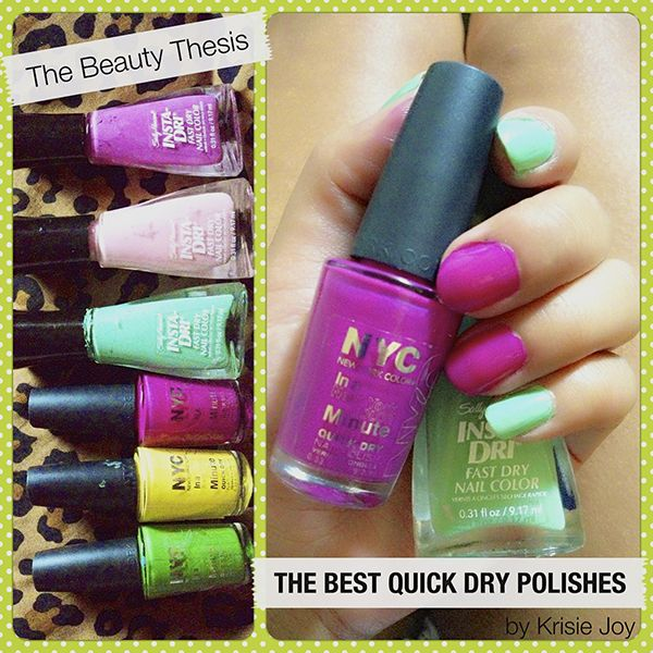 The Best Quick Dry Nail Polish: Quality Results, Budget Friendly Prices