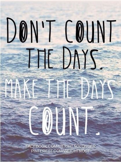 Don't count the days, make them count with a new career www.passionparties.com
