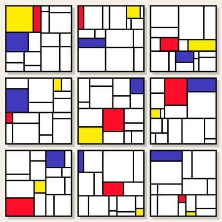 Mondrian Kunst Piet Mondrian Mondrian Und Mondrian Kunst