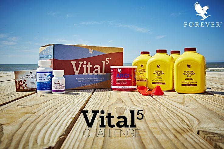 Accueillez le printemps en top forme avec le programme VITAL5™ !  Pour plus d'informations sur l'effet de synergie que procurent les 5 produits de ce programme, rendez-vous sur www.foreverliving.fr ou bien rapprochez-vous de la personne qui vous a présenté Forever. #VITAL5