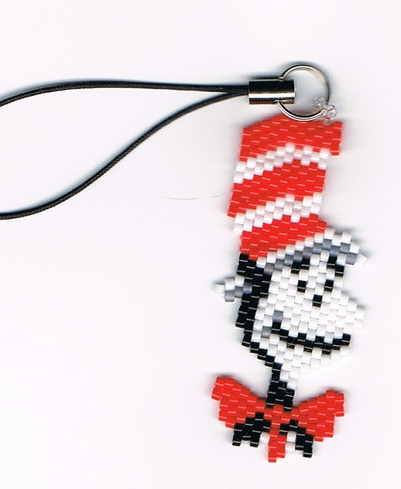 145 best breading 2 images on pinterest bead jewellery for Cat in the hat jewelry