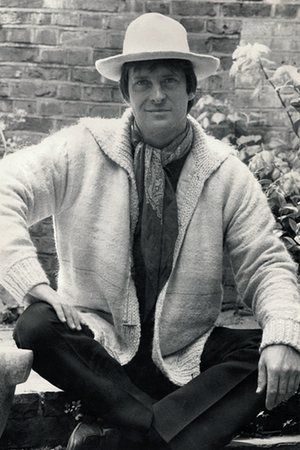 Jeremy Brett in a felt hat from Peru and a sweater from Greece, 1975