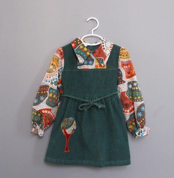 I've gotta check this out to see if it's in Priscilla's size!  #vintage #kids #fashion