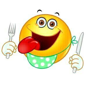 Cute Hungry Emoticon, Emoji, Smiley - Illustration Stock Vector ...