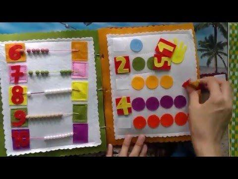 DIY/Craft/handmade - Quiet books for kids - gift ideas for children 1 - YouTube