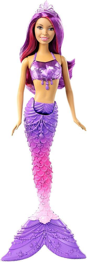 Barbie Mermaid Doll, African-American Gem Fashion #NotApplicable