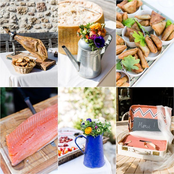 Détails du cocktail aux domaines de Patras, cocktail, wedding, provence, food, drome, mariage