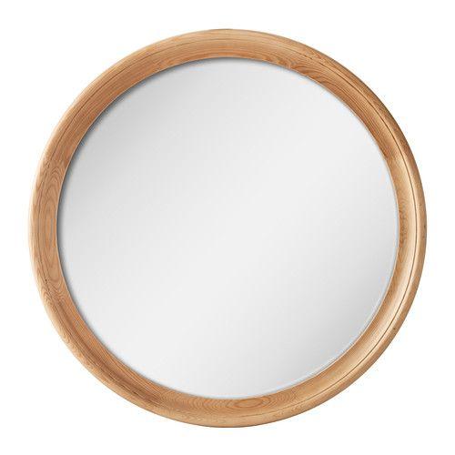 STABEKK Miroir IKEA Miroir avec pellicule anti-éclats au dos. En bois massif, un matériau naturel et résistant à l'usure.