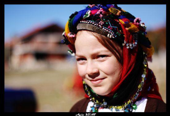 Köylü Kızı fotoğrafı. Fotoğraf: Ayşe Kunt