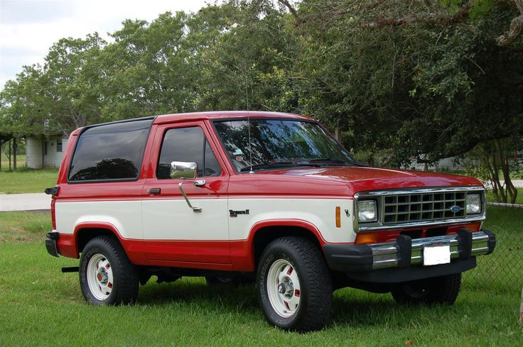 David Coots Amp His 84 Ford Ford Bronco Broncos And Ford