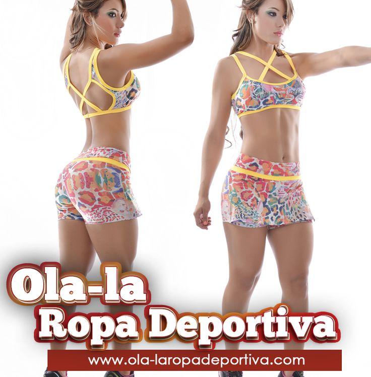 El ejercicio y la moda el complemento ideal para la mujer de hoy. http://www.ola-laropadeportiva.com/home/81-conjunto-deportivo-faldashort-estampada-top-deportivo.html #Short #TOPS #Moda #Deportes #Colombia #Barranquilla
