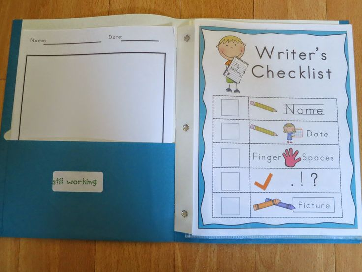 A great resource for writing folders.  Has everything I'd need for my kinders.