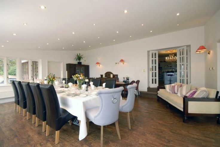 Pembrokeshire National Park grand house for rent - spacious dining room