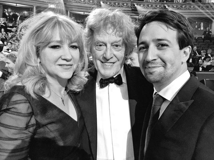 Legends Sonia Friedman, Tom Stoppard, Lin-Manuel Miranda