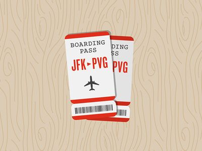 Dribbble - Boarding Pass by Cody Paulson
