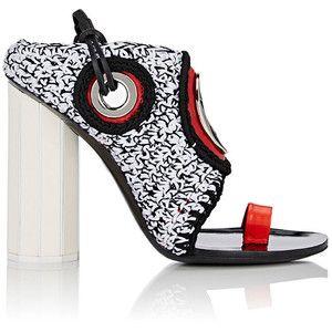 Proenza Schouler Women's Grommet-Embellished Slingback Sandals