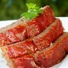 Brown Sugar Meatloaf. Made this last night with 1/2 ground turkey & 1/2 lean ground beef. Substitute crackers for bread crumbs, add Worcestershire sauce & spices. Yummy