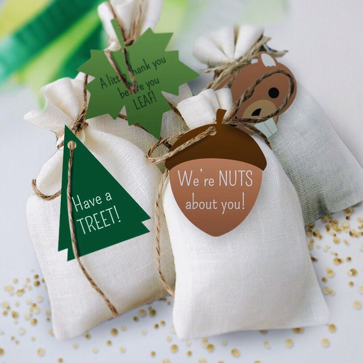 Parting gifts: roasted/candied nuts