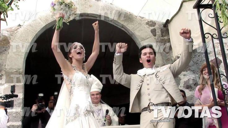 Fran Meric y Raúl Sandoval tuvieron una divertida boda ¡al estilo de los...