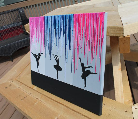 Melted Crayon Art with Quote  Brand new listing by CrayonJunkie