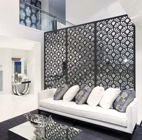 Metal Room Dividers Ideas Byobu Screen Pinterest Decor Decorative And