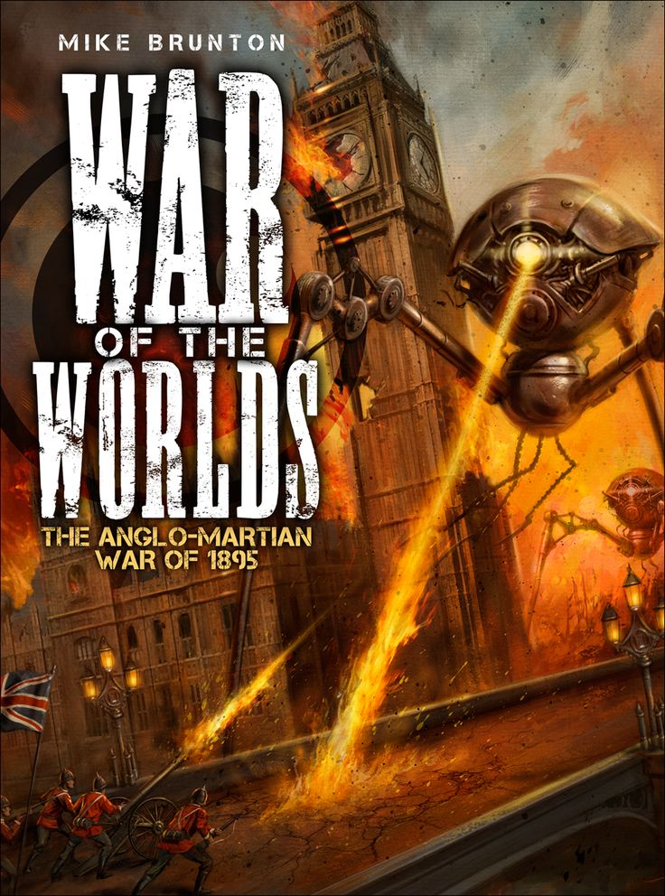 Cover of War of the Worlds : The Anglo-Martian War of 1895 | by ...
