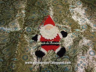 Ponto Preso1: Croche - NATAL EM CIRCULO - Projeto 3