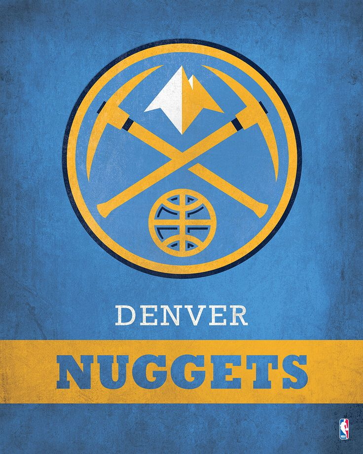 Denver Nuggets Logo $24.99