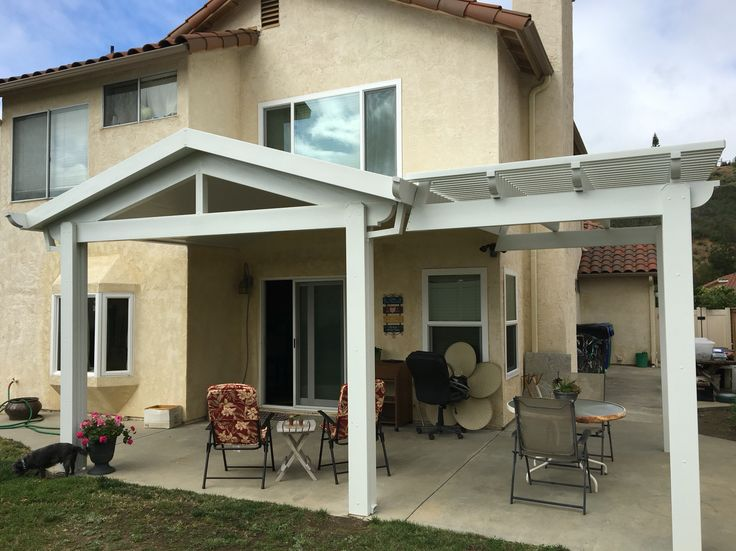 Gable Insulated Patio Cover In Poway Ca By RKC Construction  #patiocoverspoway