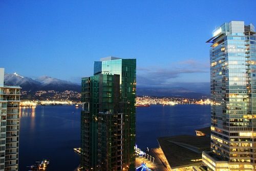 Vancouver Marriott Pinnacle Downtown Hotel Vancouver Canada