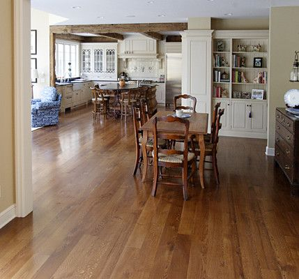 White Oak Floors - Live Sawn traditional wood flooring