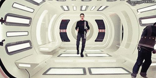 And when he danced some more on the set of Star Trek: Into Darkness. | 39 Times Benedict Cumberbatch Completely Broke The Internet