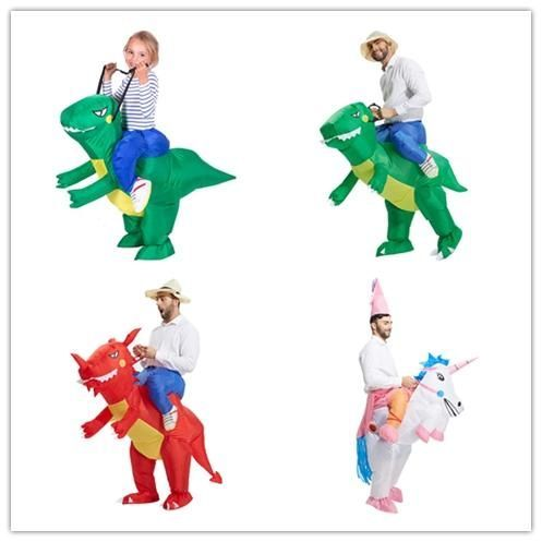 Inflatable Dinosaur Fancy Dress Kids Costume Dragon Party Outfit #partyoutfits