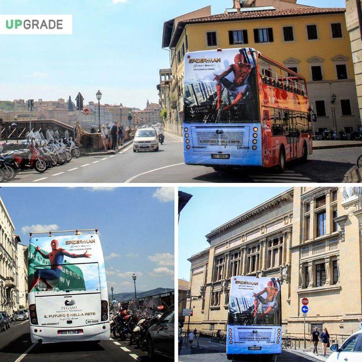 Brand: Pegaso - Università Telematica ADV: Bus Itinerante - Firenze #pegaso #universitàtelematica #firenze #italia #università #adv #advertising #pubblicitá #pubblicitàinmovimento #bus www.upgrademedia.it