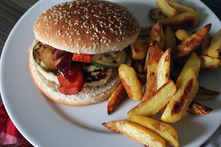 Halloumi-Burger