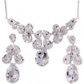 Set bijuterii mireasa cu cristale swarovski http://www.bijuteriifrumoase.ro/cumpara/swan-set-ce-co-2414