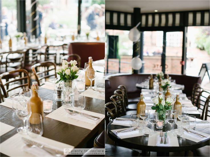 COTE brasserie wedding , contemporary wedding venue, city funky weddings http://www.plentytodeclare.com/romantic-windsor-wedding-of-drashta-parthiv/