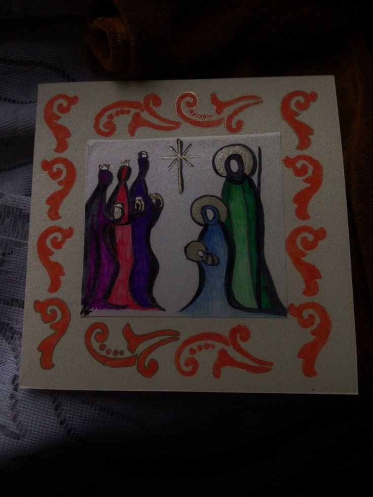 Christmas card by AnnaGras on Etsy