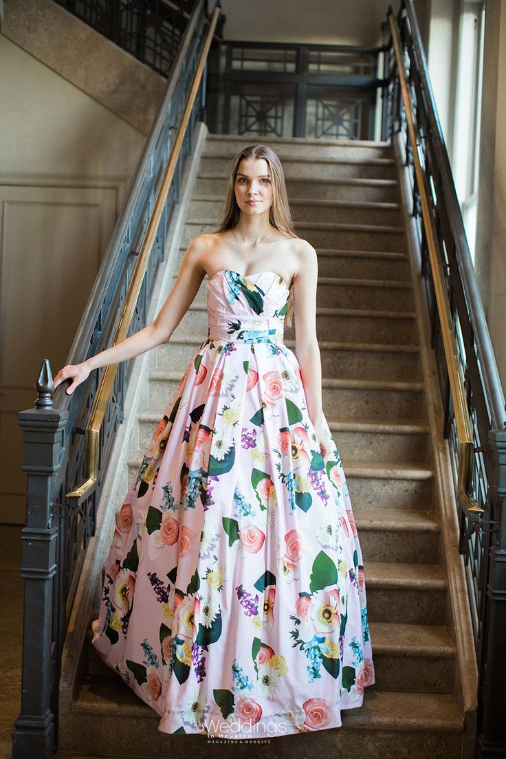 Floral Wedding Dress by Damsel White Label   Photo: Civic Photos