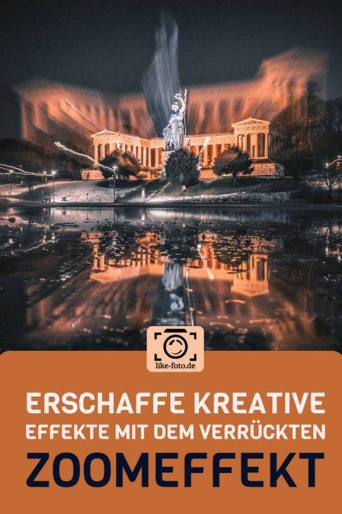 Der Zoomeffekt – kreative Bilder Dank dieser verrückten Fototechnik