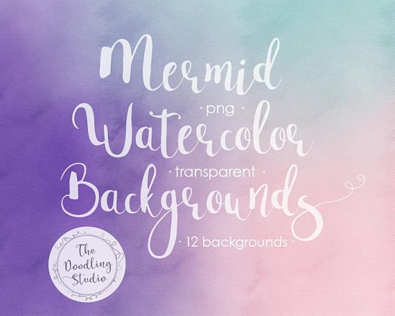 ● Watercolour Mermaid Ultraviolet Background Textures - 12 BACKGROUNDS (png, transparent, bendable) ● --- The pack includes: --- 12 images in transparent png format in 300dpi (1920x1080px). Each one is unique! And you can overlay them since theyre transparent. #watercolorbackgrounds #ultraviolet #mermaid #graphicdesign #designresources #clipart #watercolortexture #digitalpaper #digitalscrapbook #crafting
