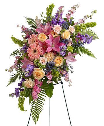 unique floral arrangements for funerals - Google Search