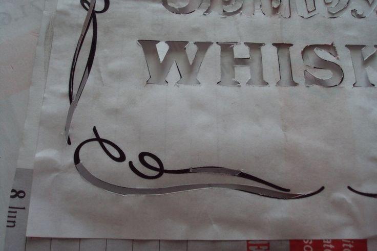 Image result for jack daniels old no 7 large stencil
