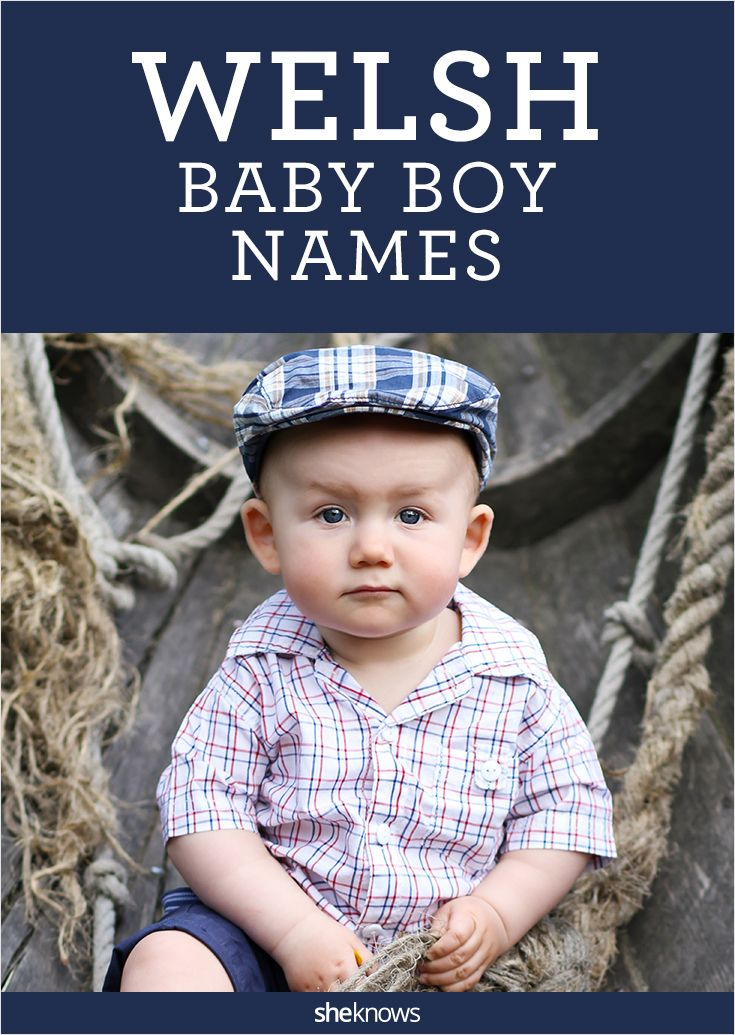 Wildly wonderful Welsh baby names for boys. ake some time, peruse this list, and find the perfect moniker for your little boy. #BabyNames