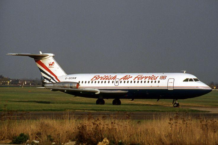G-OCNW BAC 1-11 201C British Air Ferries