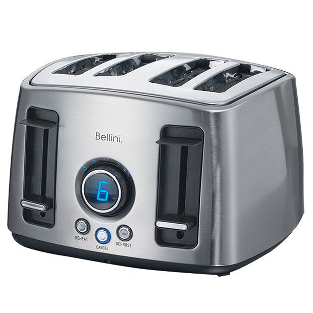 Bellini 4 Slice Count Down Toaster - BTT780