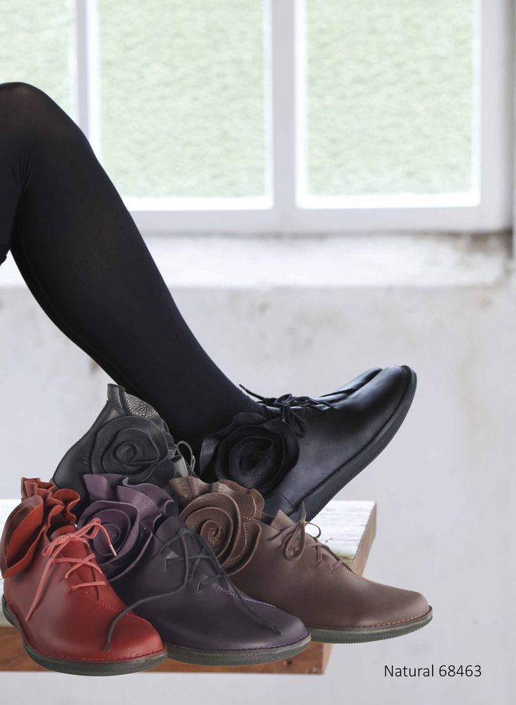 Flowershoes made of durable unlined European Leather.